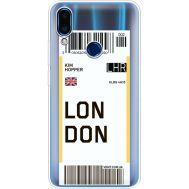 Силиконовый чехол BoxFace Meizu Note 9 Ticket London (36864-cc83)
