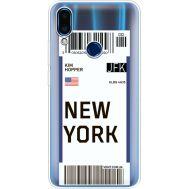 Силиконовый чехол BoxFace Meizu Note 9 Ticket New York (36864-cc84)