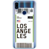 Силиконовый чехол BoxFace Meizu Note 9 Ticket Los Angeles (36864-cc85)