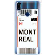 Силиконовый чехол BoxFace Meizu Note 9 Ticket Monreal (36864-cc87)
