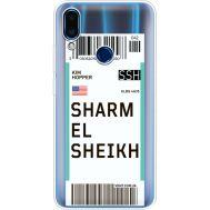 Силиконовый чехол BoxFace Meizu Note 9 Ticket Sharmel Sheikh (36864-cc90)