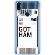 Силиконовый чехол BoxFace Meizu Note 9 Ticket Gotham (36864-cc92)