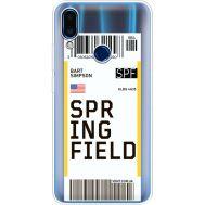 Силиконовый чехол BoxFace Meizu Note 9 Ticket Springfield (36864-cc93)