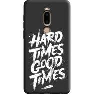 Силиконовый чехол BoxFace Meizu M8 hard times good times (38817-bk72)