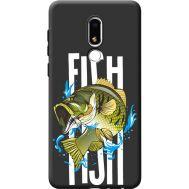 Силиконовый чехол BoxFace Meizu M8 Lite Fish (41091-bk71)