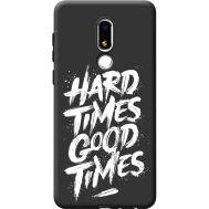 Силиконовый чехол BoxFace Meizu M8 Lite hard times good times (41091-bk72)