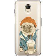 Силиконовый чехол BoxFace Meizu M6s Dog Coffeeman (35011-cc70)