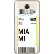 Силиконовый чехол BoxFace Meizu M6s Ticket Miami (35011-cc81)