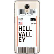 Силиконовый чехол BoxFace Meizu M6s Ticket Hill Valley (35011-cc94)