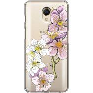 Силиконовый чехол BoxFace Meizu M6s Cherry Blossom (35011-cc4)