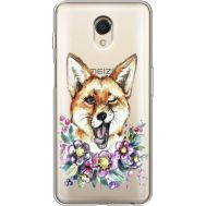 Силиконовый чехол BoxFace Meizu M6s Winking Fox (35011-cc13)