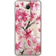 Силиконовый чехол BoxFace Meizu M6s Pink Magnolia (35011-cc37)