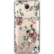 Силиконовый чехол BoxFace Meizu M6s Roses (35011-cc41)