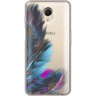 Силиконовый чехол BoxFace Meizu M6s Feathers (35011-cc48)