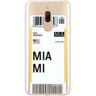 Силиконовый чехол BoxFace Meizu M6T Ticket Miami (35012-cc81)