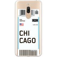 Силиконовый чехол BoxFace Meizu M6T Ticket Chicago (35012-cc82)