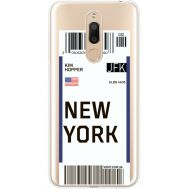 Силиконовый чехол BoxFace Meizu M6T Ticket New York (35012-cc84)