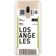 Силиконовый чехол BoxFace Meizu M6T Ticket Los Angeles (35012-cc85)