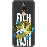 Силиконовый чехол BoxFace Meizu M6T Fish (35574-bk71)