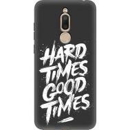 Силиконовый чехол BoxFace Meizu M6T hard times good times (35574-bk72)