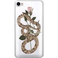 Силиконовый чехол BoxFace Meizu U10 Glamor Snake (36786-cc67)