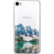 Силиконовый чехол BoxFace Meizu U10 Blue Mountain (36786-cc68)
