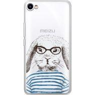 Силиконовый чехол BoxFace Meizu U10 MR. Rabbit (36786-cc71)