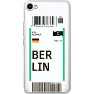 Силиконовый чехол BoxFace Meizu U10 Ticket Berrlin (36786-cc80)
