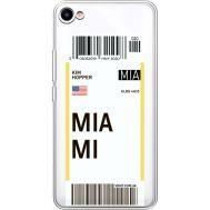 Силиконовый чехол BoxFace Meizu U10 Ticket Miami (36786-cc81)