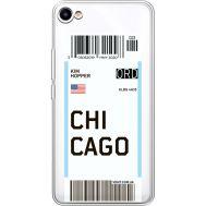 Силиконовый чехол BoxFace Meizu U10 Ticket Chicago (36786-cc82)