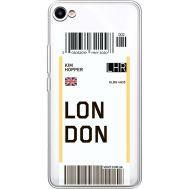 Силиконовый чехол BoxFace Meizu U10 Ticket London (36786-cc83)
