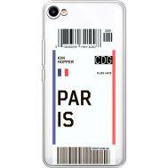 Силиконовый чехол BoxFace Meizu U10 Ticket Paris (36786-cc86)