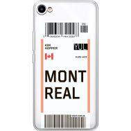 Силиконовый чехол BoxFace Meizu U10 Ticket Monreal (36786-cc87)