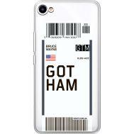 Силиконовый чехол BoxFace Meizu U10 Ticket Gotham (36786-cc92)