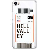 Силиконовый чехол BoxFace Meizu U10 Ticket Hill Valley (36786-cc94)