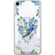 Силиконовый чехол BoxFace Meizu U10 Spring Bird (36786-cc96)