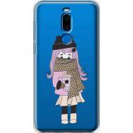 Силиконовый чехол BoxFace Meizu X8 Winter Morning Girl (35839-cc61)