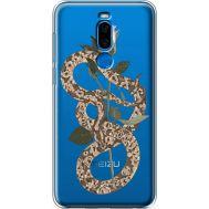 Силиконовый чехол BoxFace Meizu X8 Glamor Snake (35839-cc67)