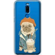 Силиконовый чехол BoxFace Meizu X8 Dog Coffeeman (35839-cc70)