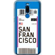 Силиконовый чехол BoxFace Meizu X8 Ticket San Francisco (35839-cc79)