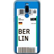 Силиконовый чехол BoxFace Meizu X8 Ticket Berrlin (35839-cc80)