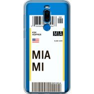Силиконовый чехол BoxFace Meizu X8 Ticket Miami (35839-cc81)