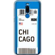 Силиконовый чехол BoxFace Meizu X8 Ticket Chicago (35839-cc82)