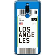 Силиконовый чехол BoxFace Meizu X8 Ticket Los Angeles (35839-cc85)