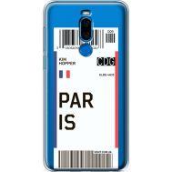 Силиконовый чехол BoxFace Meizu X8 Ticket Paris (35839-cc86)