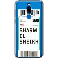Силиконовый чехол BoxFace Meizu X8 Ticket Sharmel Sheikh (35839-cc90)