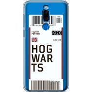 Силиконовый чехол BoxFace Meizu X8 Ticket Hogwarts (35839-cc91)