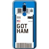 Силиконовый чехол BoxFace Meizu X8 Ticket Gotham (35839-cc92)