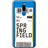 Силиконовый чехол BoxFace Meizu X8 Ticket Springfield (35839-cc93)