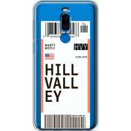 Силиконовый чехол BoxFace Meizu X8 Ticket Hill Valley (35839-cc94)